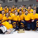 Congrats to the @queensgaels and their Carr-Harris Cup win! @OUAsport #queensuniversity #hockey #gogaelsgo #ygk https://t.co/NMUYNJiTaP
