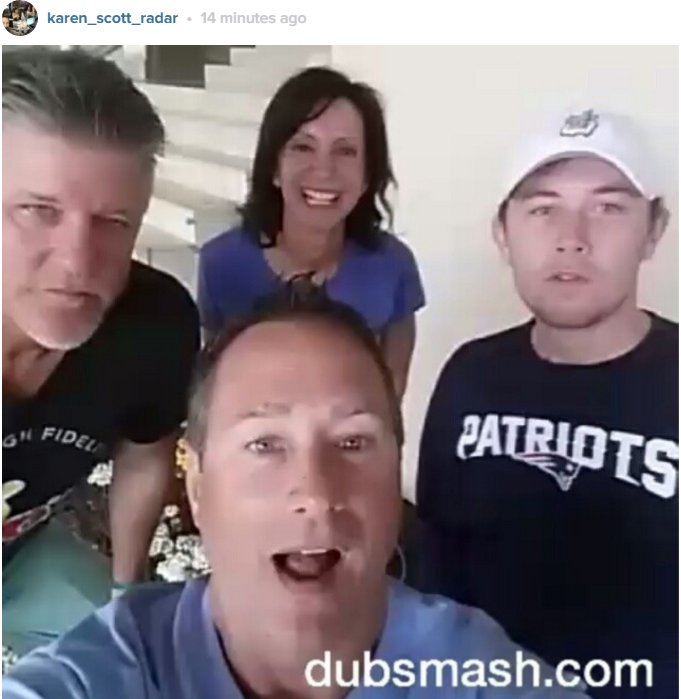 .@KarenScottRadar introduced @ScottyMcCreery to DUBSMASH! Do you recognize this song? https://t.co/m267ehe2ff https://t.co/Tqd4PzYqWk
