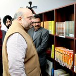 BJP President Shri @AmitShah inaugurated new Library & Archives section today at BJP Central-office. https://t.co/HG4filQOLs