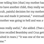 Ted Cruz once told a college classmate that her mother was a whore for getting an abortion https://t.co/29qdv0eDDk https://t.co/2K0rClSqt3