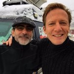 Men in black! Out covering the snowstorm on Long Island with my pal, @ABC7NY photographer, Joe Tesauro. #Snow https://t.co/uKv5K26SDy