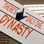 Theres only ONE DYNASTY! See yall tonight at 7. #beatOU https://t.co/uzf4knouzg