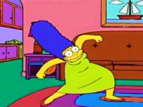How did that person know to get that frame of Marge so quick?! https://t.co/QEQo3ahZ52