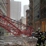 Crane collapse in Lower Manhattan kills one person and injures two others https://t.co/cUtoL31LlI via @WSJNY https://t.co/nMICmfEUBI