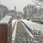 Its snowing in #jerseycity today! That was a nice surprise to wake up to - I ❤️ the #snow! https://t.co/pRCPSqPR5x