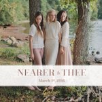 """""""Nearer To Thee"""", an EP of worship covers: coming March 1st, 2016! #NearerToTheeEP https://t.co/sfWTIHxC2s"""