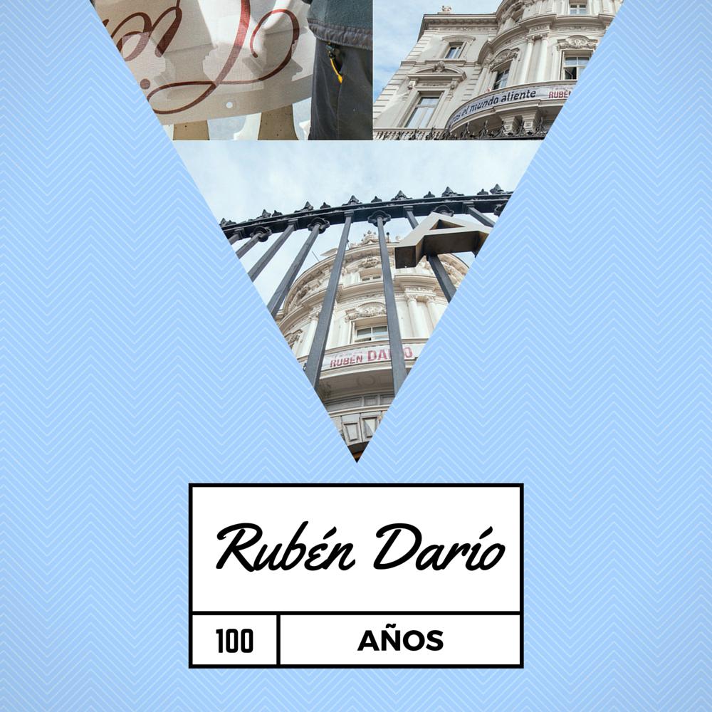 Hoy es el centenario de la muerte de #RubénDarío y nos teñimos de #azul para homenajearle https://t.co/td8qnEpWY9 https://t.co/WftpcSLiIG