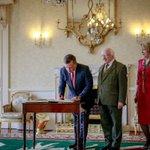 جلالة الملك عبدالله الثاني يلتقي رئيس جمهورية إيرلندا، مايكل هيغينز #الأردن #Jordan https://t.co/JkKfoJ4Qv3
