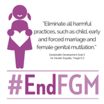6 February is International Day of Zero Tolerance to Female Genital Mutilation.  #endFGM https://t.co/2akricLt91 https://t.co/vFMhjR51CM