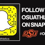 Our own @Nolan_Boyd is taking over @OSUAthletics snapchat today! Check it out! #okstate https://t.co/Dc4a0JfELp