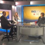 Our Olympic hosts @AndiPetrillo & @DavidAmber talking the Games on @CBCNews #6monthstogo #RoadToRio #cbcolympics https://t.co/PPR0yJWIMh
