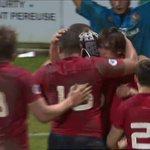 Lessai de Pierre Mignot pour clore la marque ! #FranceU20 #FRAITA https://t.co/1p5gfAW64d