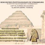 #Conférence: le 23/02, JP Pätznick présentera le complexe funéraire de #Djoser à #Saqqâra! #Egyptologie #Strasbourg https://t.co/aKtJjBtd7J