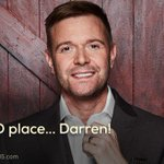 Its 3rd place for Darren! RT to show him some love. #CBB https://t.co/Vb7IaXCN6F