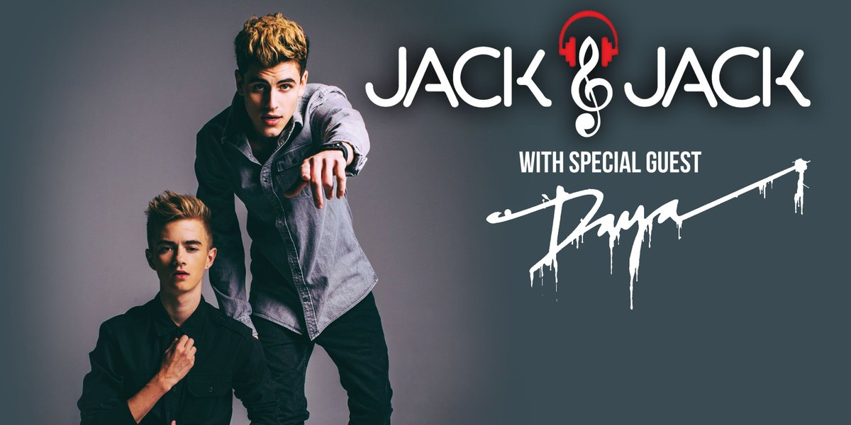 TONIGHT — *SOLD OUT* @JackAndJackReal w/ @TheOfficialDaya! Doors open at 6PM. Get more info: https://t.co/ig2gQ8zUHq https://t.co/LPtQ7WfUQP