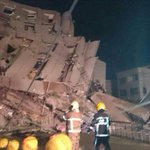 PICTURED: Multiple buildings collapse in Taiwan after 6.4 earthquake https://t.co/BP2vFQeGK3 https://t.co/eNTl7tSbbT