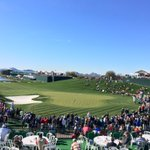 Honestly - you couldnt ask for a better day to be at the @WMPhoenixOpen - and the crowds keep coming. @abc15 https://t.co/rTBZTKQQr7