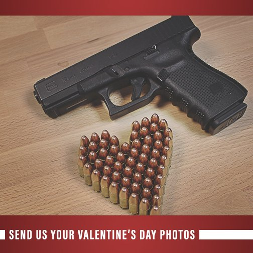 #ValentinesDay is just around the corner. Show us your #GLOCK love by tweeting us a photo of your GLOCK. https://t.co/6n01lhGg2I
