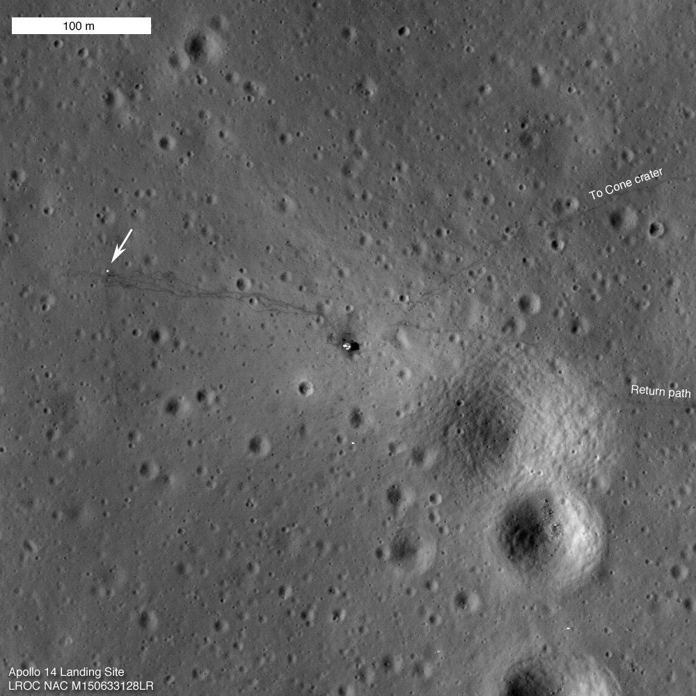45 years ago today, Apollo 14 landed on the Moon. Explore images of the landing site here: https://t.co/85ERWR1bbs https://t.co/bgsPqKI9PN