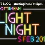 Live blog : #Nottingham Light Night https://t.co/yhIk2L7e4a #WestBridgford https://t.co/VIjUSwMbw9