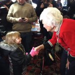 .@realDonaldTrump My 90 year old mother made it out to campaign. She met Destiny, age 5. https://t.co/Xue8HwpTS3