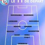 La compo #RCSA. #VHFRCSA Remplaçants : Blondel (g), Kanté, Salmier, Blayac, Pouye. Allez Racing !!! ;) https://t.co/drf9eWx3Ef