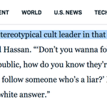 Interesting quote here from cult expert Steve Hassan on why @realdonaldtrump attracts those susceptible to extremism https://t.co/QvGoUZiuaU