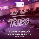 We are offering you the chance to experience TRIB3. Saturday 11:30 & Sunday 10:15 (Complementary) #sheffieldissuper https://t.co/om0vG35nk0