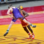 Action from last years Iowa State vs Northern Iowa dual in Ames. ✈️ Hall. #ALLINfor100 https://t.co/BF4mMeRy5f