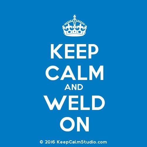 Happy Friday! #keepcalmandweldon #MillerWelders https://t.co/ZTOM9NUI4A