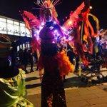 Procession is about to start at Sneinton Market! #LightNightNotts https://t.co/kdHU9nykG2