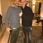 With my Friend @GlmErsan in Madrid.Im happy to see you again. https://t.co/dYRG8W9lQe
