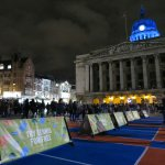Still time to light up the Market Square with your tennis skills... Come & give ???? a shot! #LightNight #Nottingham https://t.co/KkNPRorpEX