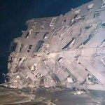 激しく潰れてる。。。  #地震 #台湾 https://t.co/J0RH5hcvAB