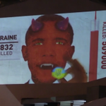 New video from Russia depicts Obama as a mass-murdering, devil-like figure: https://t.co/ExBdSdd7ra https://t.co/oV9J30lhBN