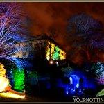 Photograph taken at #NottinghamCastle #LightNightNotts #Nottingham https://t.co/POdoe94wBe