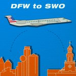 A great day for traveling, Cowboys! @americanair will now fly nonstop from #StwOk to #DFW! https://t.co/e9wlB27QXe https://t.co/OAiTyJ6pZX