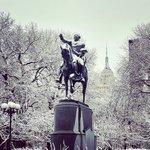 NYC, sometimes youre so pretty. #iheartny #ilovenyc #nyc #snow #unionsquare #empirestateb… https://t.co/cN18s7u3zI https://t.co/WCCnuoTQDM