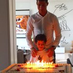 Twt @Cristiano: Thank you for your happy birthday messages! 🎂👍3️⃣1️⃣😍❤️😘 https://t.co/VR5LoLN071