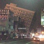 6.7-magnitude earthquake strikes southern Taiwan: https://t.co/m69E8xJtmm (photo from Haixia daobao newspaper) https://t.co/1iqbFNo3xI