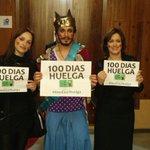 Desde aquí nos sumamos al apoyo a las intérpretes de lengua de signos que llevan 100 días en huelga, mucho ánimo https://t.co/OxmKMzjxbD