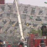 【台湾南部でM6.4の地震 3人の死亡確認】台湾南部で起きたマグニチュード6.4の地震で、台南市で少なくとも7つのビルが倒壊するなどして、これまでに3人の死亡が確認されました。https://t.co/7dbtxuqchD https://t.co/dnw6WUiezO