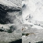 NASA images show P.E.I. ice cover today versus last year https://t.co/FMrYQM6hEj https://t.co/M06Pol0Don