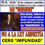 """EL PUEBLO EXIGE """"JUSTICIA"""" NO A LA LEY """"AMNISTÍA"""" CERO IMPUNIDAD... YA BASTA #LilianTuEresComplice https://t.co/hiYuun9HtS"""