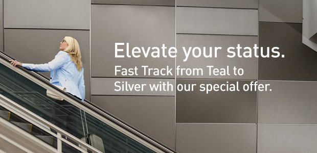 Fast Track your way to WestJetRewards Silver flight benefits now. Details & registration at