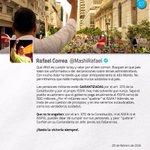 """""""Confíen en su Comandante en Jefe, jamás les fallaremos"""" @MashiRafael https://t.co/s2v3N08VU9"""