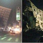 Terremoto derrumbó edificios en Taiwán https://t.co/6p0f2MnvqP https://t.co/s1b1m46oFK