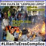 """#LilianTuEresComplice EL PUEBLO TE DICE, NO,NO Y NO A LA LEY """"AMNISTÍA"""" TU MARIDO VA CUMPLIR SU CONDENA! https://t.co/T9O2x0eIkO"""