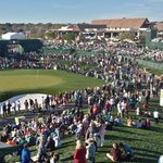 Its a record! 160,415 in attendance today at the @WMPhoenixOpen! Perfect day out here! #12news #pga #azwx https://t.co/XqPGemKlat