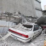元は7階建てだったのが地震で4階になったビル。阪神大震災の時の市役所を思い出してしまいます。 https://t.co/sZzMl5tg8E https://t.co/IFI1nsnlVh